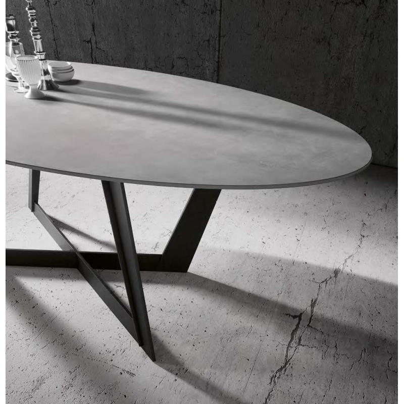 Table en céramique Twist