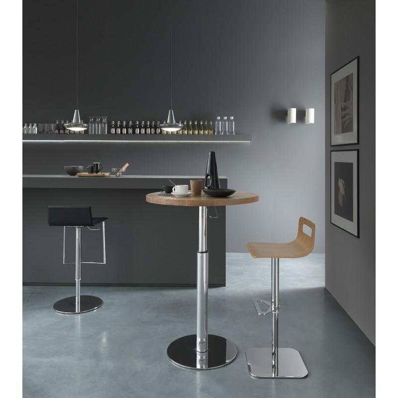 Table de bar ajustable en hauteur