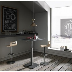 Table de bar ajustable en hauteur