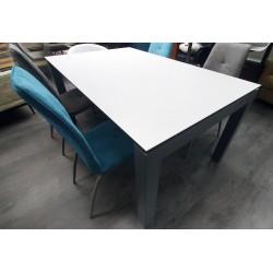 Table de salon Anny en céramique ou verre sur bois