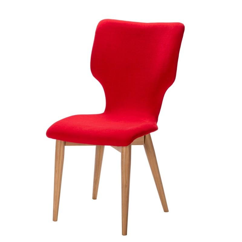 Chaise en chêne Neo piètement rond