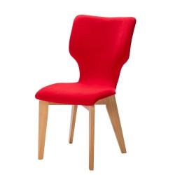 Chaise en chêne Neo avec piètement rotatif