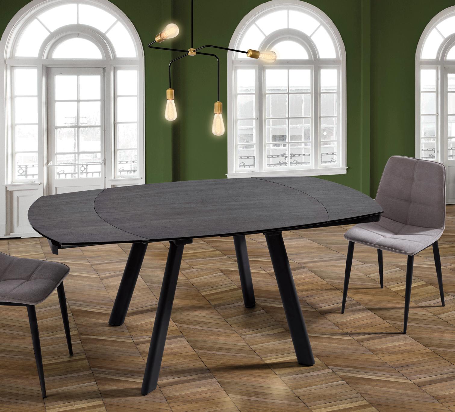 Table design en céramique