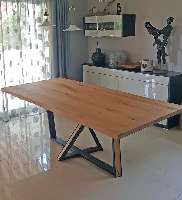 Table en bois massif Wien